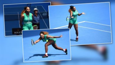 Photo of PICTURES: Serena Williams' Latest Fashion statement – 'The Serena Tard""