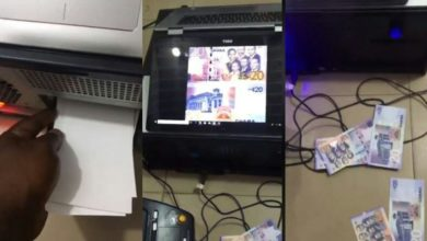 Photo of Ghana Immigration Officers arrest Nigerians printing counterfeit Ghanaian cedis