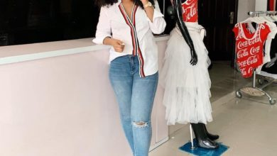 """Photo of """"I don't repeat clothes"""" – Laura Ikeji brags"""