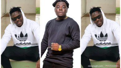Photo of Watch Video: Agbeshie And Medikal Dance Agbadza On Stage