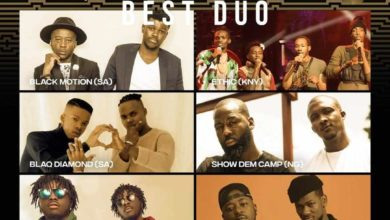 Photo of DopeNation Nominated For The 2020 SoundCity MVP Award Festival