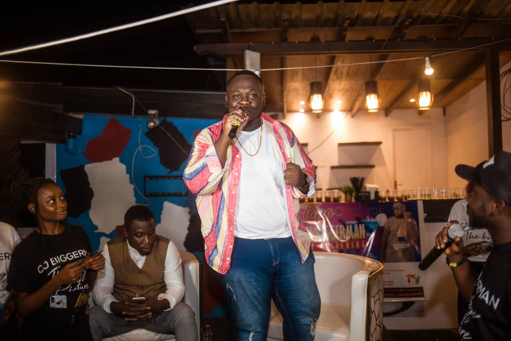 Photo of CJ Biggerman Hosts The Biggest EP Listening Session Of The Year | PHOTOS