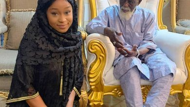 Photo of Efia Odo Donates To Chief Imam Ahead Of Ramadan Fasting