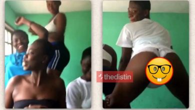 Photo of SHS Girls Girl Twerks Displaying Her Tonga Like She No Get Head In Viral VIdeo | Watch