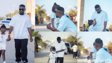 Photo of Sarkodie steps out with Titi for some fresh air | Photos|