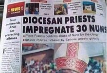 Photo of Catholic priest impregnates 30 nuns
