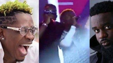 Photo of Shatta Wale and Sarkodie performance at Sarkodie's Black Love-Virtual Concert