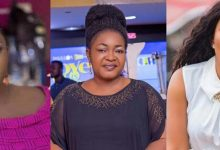 "Photo of ""You won't be buried with the properties you are bragging over. Stop the needless arguments"" – Actress Christiana Awuni straightens Tracey Boakye and Mzbel"