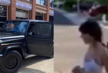 Photo of Lady rejects her boyfriend's Ghc1M G-wagon car gift because he chose the wrong colour