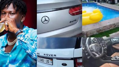 Photo of Inside Stonebwoy's multi-million East Legon mansion that contains expensive cars