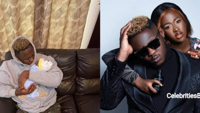 Photo of 'Can you please just say thank you to my husband for me. He is an angel & I love him' – Fella Makafui