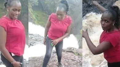 Photo of 31-year-old lady slips into her death while posing for photos during a date with her fiance