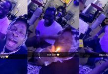 Photo of Shatta Wale and Jupitar hit the studio to record a new song titled 'Star Life'