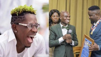 Photo of Shatta Wale reacts after Sarkodie tweeted 'by their suits we shall know them'