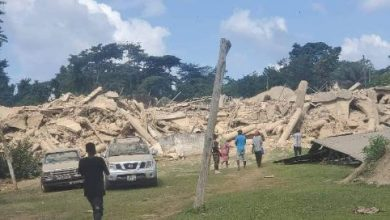 Photo of Church Building Collapses As Members Gathered To Pray & Fast For Sick Head Pastor