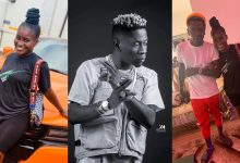 Photo of HOT GIST: Shatta Wale Kisses Yaa Drey to mark his Birthday