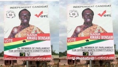 Photo of Kwaku Bonsam to contest as independent parliamentary candidate for Offinso North constituency