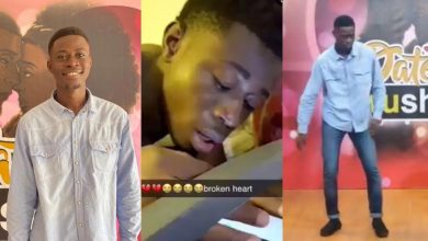 "Photo of ""From Broken Heart To Date Rush"" – The Story Of Sammy, The Guy Who Was Dumped By Uni Girlfriend Nana Ama"