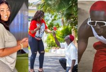 Photo of Bosom P Yung Goes Down On One Knee For Cookie Tee, His Latest Ataa Adwoa And She Said Yes – Photos