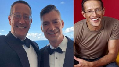 Photo of CNN's Richard Quest Marries His Longtime Male Partner