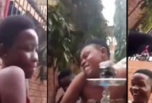 Photo of JHS Students Caught On Camera Doing 'Mama And Dada' In Broad Day Light At A Party- Video