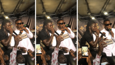 Photo of Kuami Eugene 'Happily' Performs NPP Song, 'Happy Day' With Sarkodie, Days After Saying He Was Uncomfortable About It