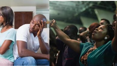"Photo of ""My girlfriend is addicted to giving testimony in church"" Man complains"