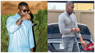 Photo of Your mates in Nigeria uses luxurious cars and you are here bragging in Range Rover – Ibrah One punch Sarkodie.
